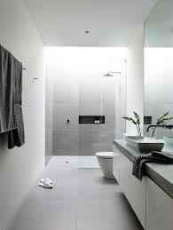 Inspirational Black And Grey Bathroom by 10 Inspirational Examples Of Gray And White Bathrooms U003e U003e This