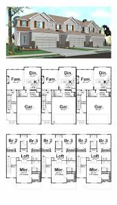 duplex house plan and elevation 3122 sq ft home appliance 2000