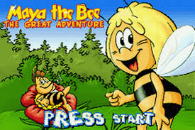 play maya bee adventure nintendo game boy advance