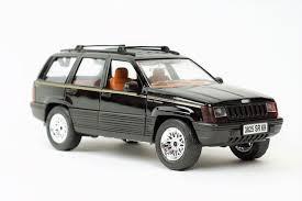 jeep cherokee toy majorette club 1 18 black jeep grand cherokee 4x4 limited 4415 1995