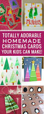 11 totally adorable homemade christmas cards for kids to make for
