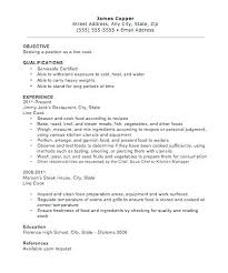 sample resume for cook position delivery driver resume samples