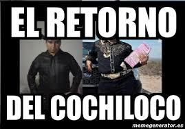 Memes De Cochiloco - meme personalizado el retorno del cochiloco 4375286
