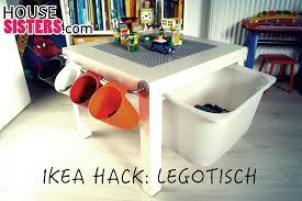 Wohnzimmertisch Platte Diy Ikea Lack Kinderzimmer Hack Lego Tisch Housesisters