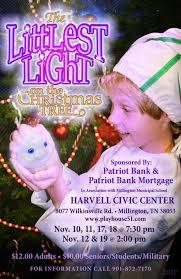 playhouse 51 presents u0027the littlest light on the christmas tree