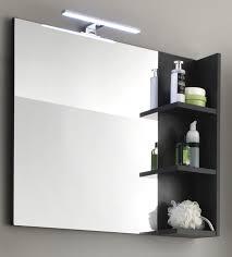 Badezimmerspiegel Mit Ablage Badezimmer Hochschrank Kika Disneip Com Badezimmer Regal Grau