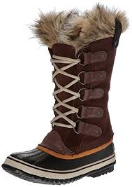 sorel womens boots uk amazon com sorel s tobacco sudan brown joan of arctic 8 b
