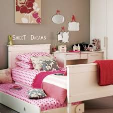 Pink And White Striped Rug Bedroom Modern Home Interior For Teen Bedroom Showing