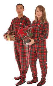 plaid footed pajama childhood