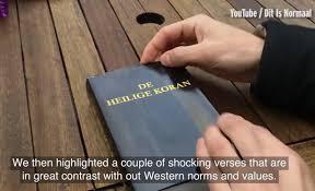 reading bible told u0027s koran watch