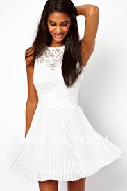 white summer dress black and white floral lace dress