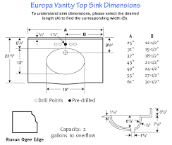 Inspirational Bathroom Sink Vanity Measurements Bathroom Faucet Bathroom Fixture Sizes
