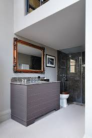 grey bathroom with marble shower enclosure shower u0026 wet room