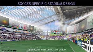 new vikings stadium u0027s soccer setup revealed