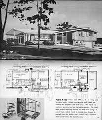 split level floor plans 1970 homes and plans of the 1940 s 50 s 60 s and 70 s flickr