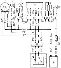 454 ltd en450 headlight system circuit wiring diagram