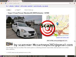 nissan altima 2005 craigslist vehicle scams google wallet ebay motors amazon payments