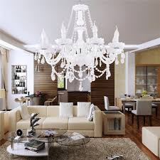 interior luxury modern chandeliers lighting for dining room with