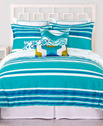 Blue Striped Comforter Set Trina Turk Horizon Stripe Comforter And Duvet Sets Everything