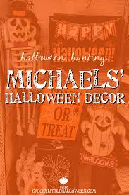 halloween hunting michaels u0027 halloween decor spooky little halloween