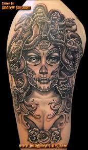 day of the dead skull tattoos the skull appreciaton society