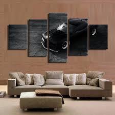 online shop 5 pieces sets canvas art black u0026 white chevrolet