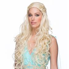 khaleesi costume master costume wig
