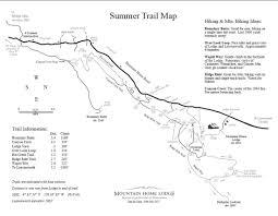 Map Of Leavenworth Wa Mountain Home Ridge Outings
