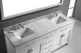 Bathroom Vanities 22 Inches Wide by Virtu Usa Md 2072 Wmsq Wh Caroline 72 Inch Bathroom Vanity With