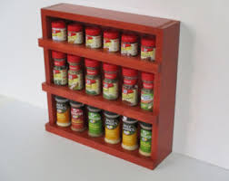 Wooden Spice Cabinet With Doors Rustic Wood Spice Rack Wooden Spice Rack Spice Cabinet