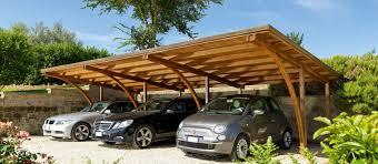 tettoia auto legno coperture auto unopiù