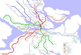Shenzhen Metro Map by Stockholm Map Travel Map Vacations Travelsfinders Com