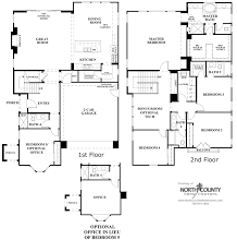 New House Floor Plans Elms Floor Plan 3 U2013 New Homes In Carmel Valley Residence Three