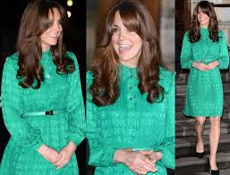 kate middleton dazzles in 1 400 retro inspired emerald green silk