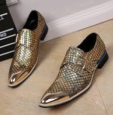 wedding shoes mens metallic men wedding shoes genuine leather mens gold dress shoes
