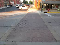 sand needed in brick paver crosswalks downtown how to tell the