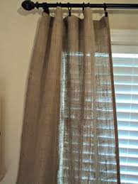 Burlap Looking Curtains How To Make Burlap Cafe Curtains Guest Post Recipe Cafe