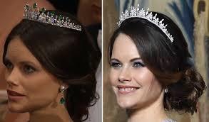 kate middleton wedding tiara princess sofia debuts diamond only version of wedding tiara