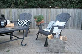 Patio Furniture On A Budget Remodelaholic Transform Your Backyard Into An Oasis On A Budget