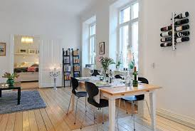 Open Floor Plan Studio Apartment Apartments Swedish Apartment Design With Open Floor Plan Amazing