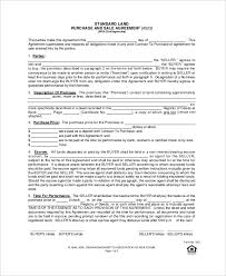sample purchase agreement forms 10 free documents in pdf word