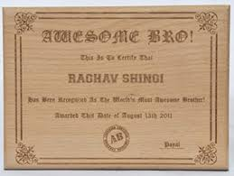 Engrave Gifts Online Send All India Gifts Engraved Certificate In Wood Engraved