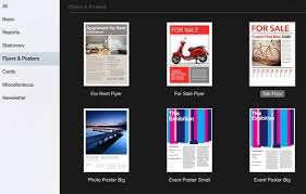 pages flyer templates how to make flyers on mac 5 quick steps