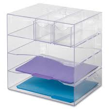 Acrylic Desk Drawer Organizer Rubbermaid Organizer Desk Optimizers 4 Way Organizer