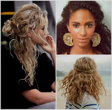coupe de cheveux fris s coupe tendance cheveux frisés fashion designs