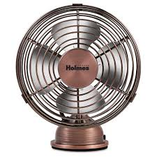 holmes metal stand fan holmes metal desk fan usb connected small bronze hnf0466 ct