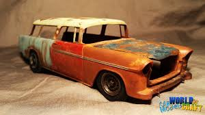 nomad car 1955 chevy nomad junker amt 1955 youtube