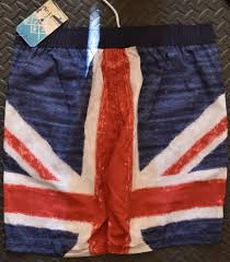 Mens Flag Shorts Mens British Flag Union Jack Swim Shorts Primark New S Xxl