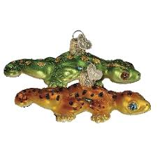 world gecko ornament collectible ornaments