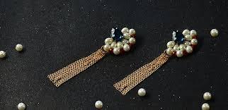 make stud earrings pandahall original diy project how to make a pair of tassel drop